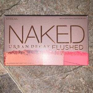 Brand New Urban Decay Flushed Palette